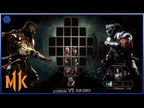 MK11: Scorpion Vs Sub Zero [Scorpion Gameplay w/ New Gear