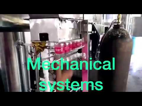 Semi Automatic Carbonated Soft Drink Plant