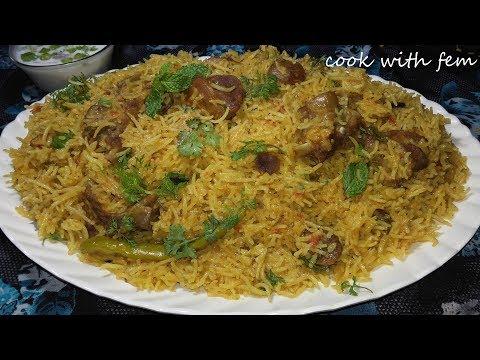 Hyderabadi Mutton Tahari || Mutton Pulao || Gosht Ki Tahari || Mutton Tahari Recipe - Simple & Easy