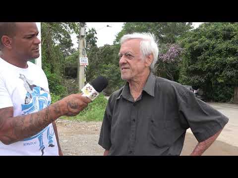 Sr Antenor um dos Moradores mais Antigos da SP 57 reclama das condições de abandono pelo DER .