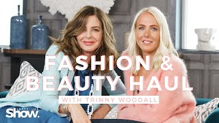 New In High Street Fashion & Beauty Haul With Trinny Woodall | SheerLuxe Show