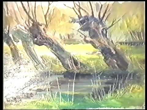 Весна 1995.  Пленер Т.Хомік. Холм. © TVP LUBLIN - YouTube