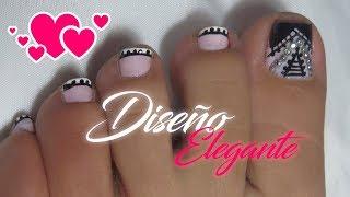Uñas Decoradas Pies Elegantes видео смотреть