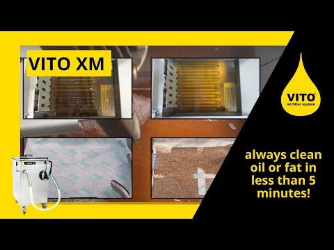 VITO XM Oil Filter Machine