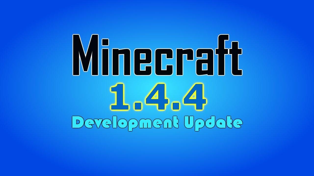 Как установить Майнкрафт 1.4.4