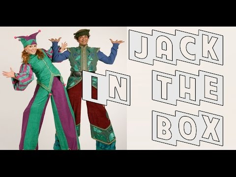 Jack In The Box - Stilt Walkers Video