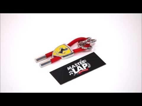 Llavero Ferrari Scudetto Rojo