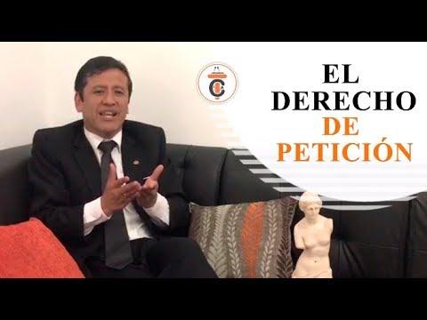 EL DERECHO DE PETICIÓN - Tribuna Constitucional 127 - Guido Aguila Grados