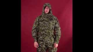 Камуфляж Горка-5. Фирменный ветрозащитный горный костюм. Видеообзор