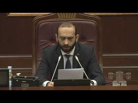 ՀՀ ԱԺ յոթերորդ գումարման վեցերորդ նստաշրջանի արտահերթ նիստ - 03.02.2021