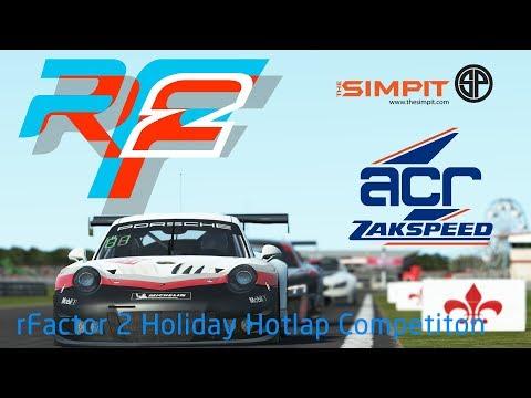rFactor 2 - Porsche 911 GT3 R @ Sebring 12H [GT3 Challengers