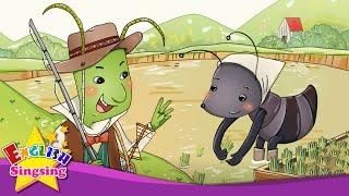 Các Grasshopper và Ant - Chúng ta hãy đi câu cá. bơi lội.