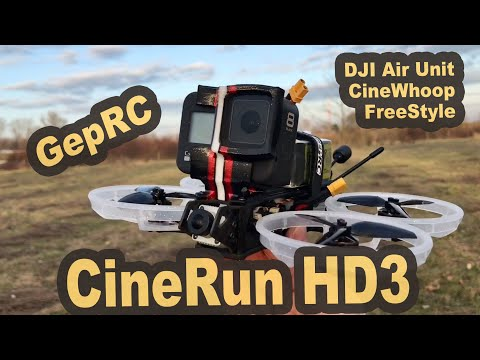 GEPRC CineRun HD3 CineWhoop - GoPro 8