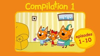 Kid-E-Cats | Compilation 1 | Cartoons for kids