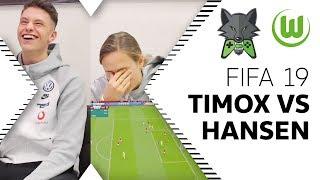 ESports-Profi Trifft Fußball-Profi | Timo 'TimoX' Siep & Caroline Graham Hansen Im FIFA 19 Duell