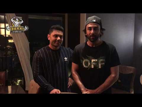 Jagga Jasoos - Ranbir Kapoor inviting Steel Gym members