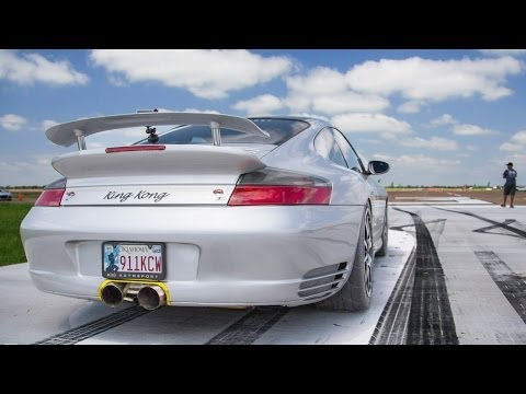 KING KONG 1300hp TT Porsche – Spinout at 180MPH!