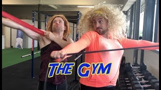 The Gym   2 Johnnies (sketch)