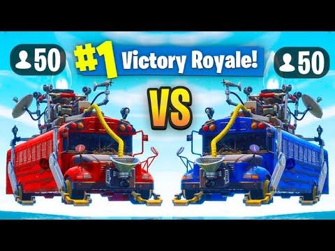 THE *NEW* UPGRADED 50 V 50 Gamemode (V2) In Fortnite: Battle Royale!