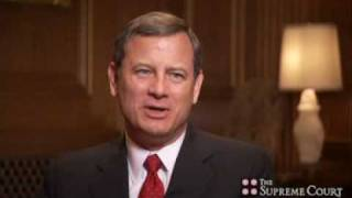 Chief Justice Roberts on Oral Argument