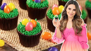 How To Make VEGAN Easter Egg Cupcakes! thumbnail