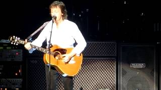 PaulMcCartney「Yesterday」28thApril2015NipponBudokanポールマッカートニー武道館イエスタデイ
