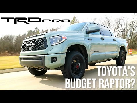 Can The 2021 Toyota Tundra TRD PRO Compete With The Raptor, TRX, Or Rebel? [Full Review]
