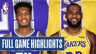 KINGS at LAKERS | FULL GAME HIGHLIGHTS | August 13, 2020