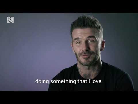 David Beckham's extraordinary 30 years
