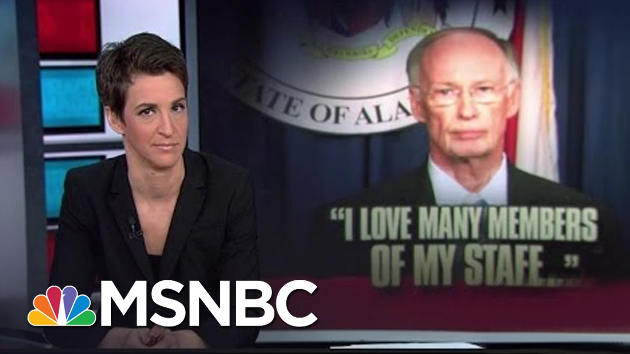 'Family Values' Alabama Governor Mired In Sex Scandal | Rachel Maddow | MSNBC thumbnail