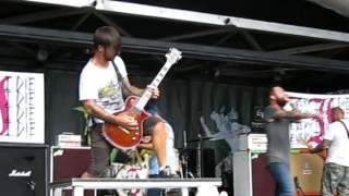 Every Time I Die - The New Black - Warped Tour - PNC Holmdel, NJ - 07.13.12
