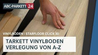 Tarkett Vinyl Starfloor Click 30 richtig verlegen