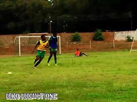 Training session Nakambala Leopard FC