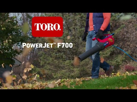 Toro PowerJet F700 Blower (51624) in Greenville, North Carolina - Video 1