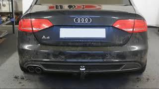 Anhängerkupplung Audi A4 S-Line abnehmbar 1138720