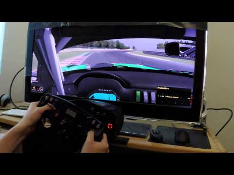 iRacing 21:9 Ultra Wide Monitor Simulation - смотреть онлайн