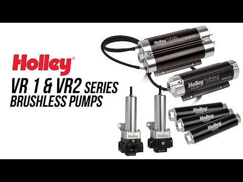 Holley VR Series Brushless Pumps