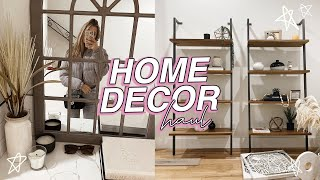 HUGE home decor haul! *literally everything I've bought so far*
