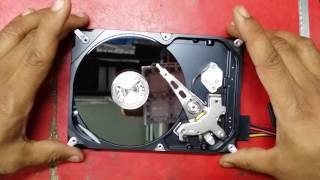 how to recovery data from hdd  500 GHZ(stuck heads : buzzing,clicking etc) seagate body noice