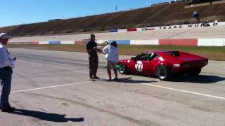 CVAR Vintage Auto Racing - Reverse Start, Sunday Races November 2010 at Texas World Speedway