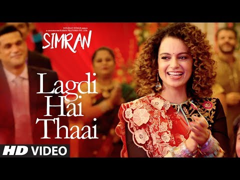 Lagdi hai Thaai | Simran (2017) Movie Song