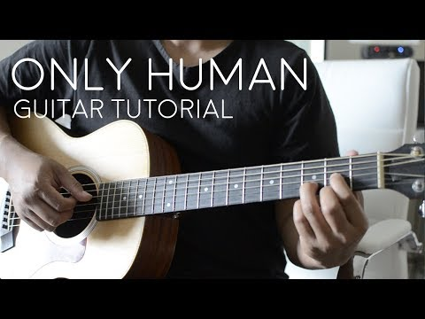 Only Human by Jonas Brothers - Guitar Tutorial