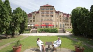 preview picture of video 'Hotel Thermia Palace***** at Health Spa Piešťany'