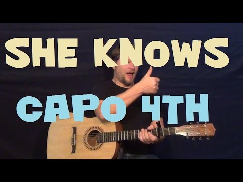 How To Play She Knows