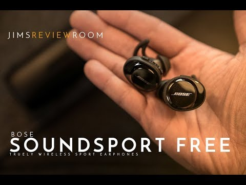 Bose Soundsport Free – TRULY Wireless Earphones – REVIEW