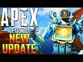 Apex Legends New Update Patch Notes! Hit Registration + Gibraltar Changes + Fortified Passive Bug