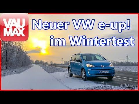 VW e-up! - Wintertest mit 36kWh Batterie - Damit musst du rechnen!