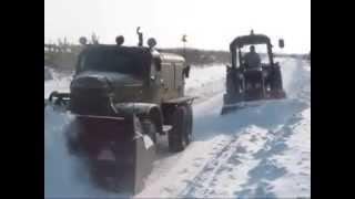 ЗиЛ 157 роторный снегоуборочный авто Д 470