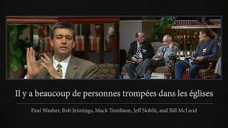 IL Y A BEAUCOUP DE PERSONNES TROMPÉES DANS LES ÉGLISES