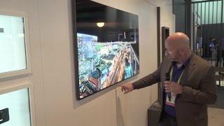 Samsung Flush-mount Fiber Optic Cable | CES 2017 | Crutchfield Video